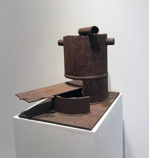Untitled, c.1965-69, steel, 19 x 21 x 20 in.