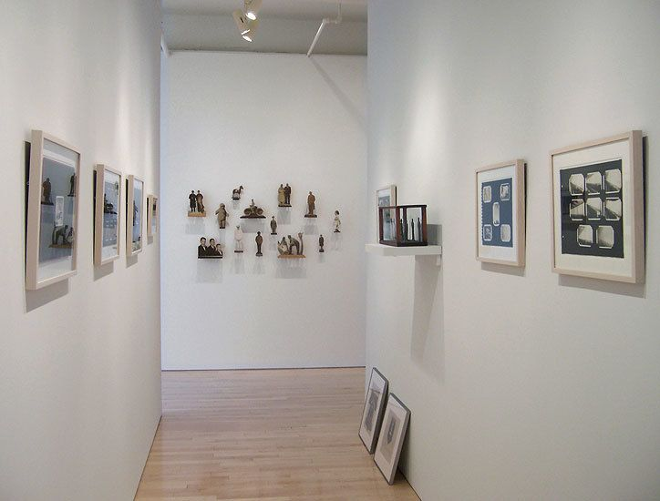 Installation, 20th c. Folk Photos, Washburn Gallery