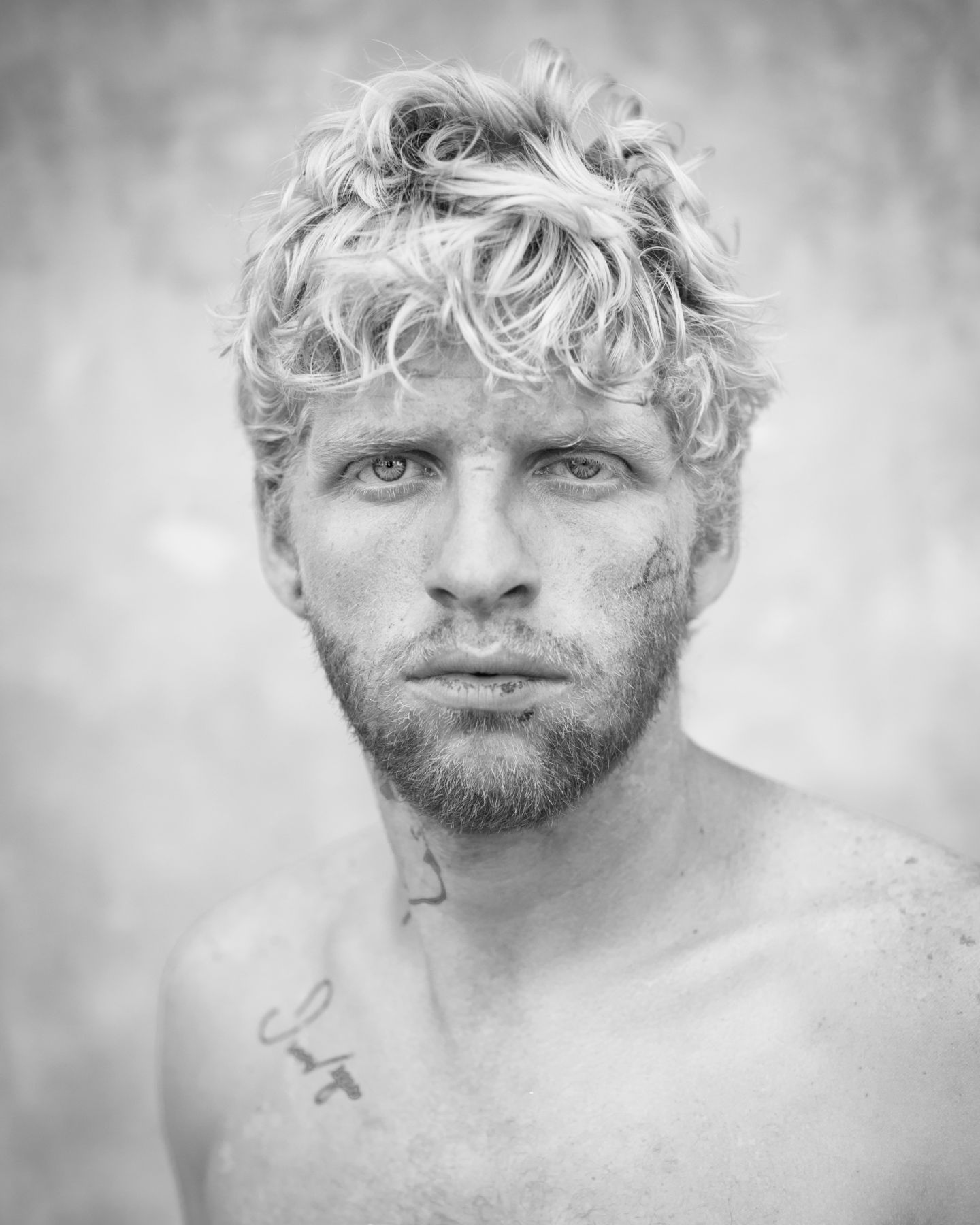 Blonde man by Michael Joseph