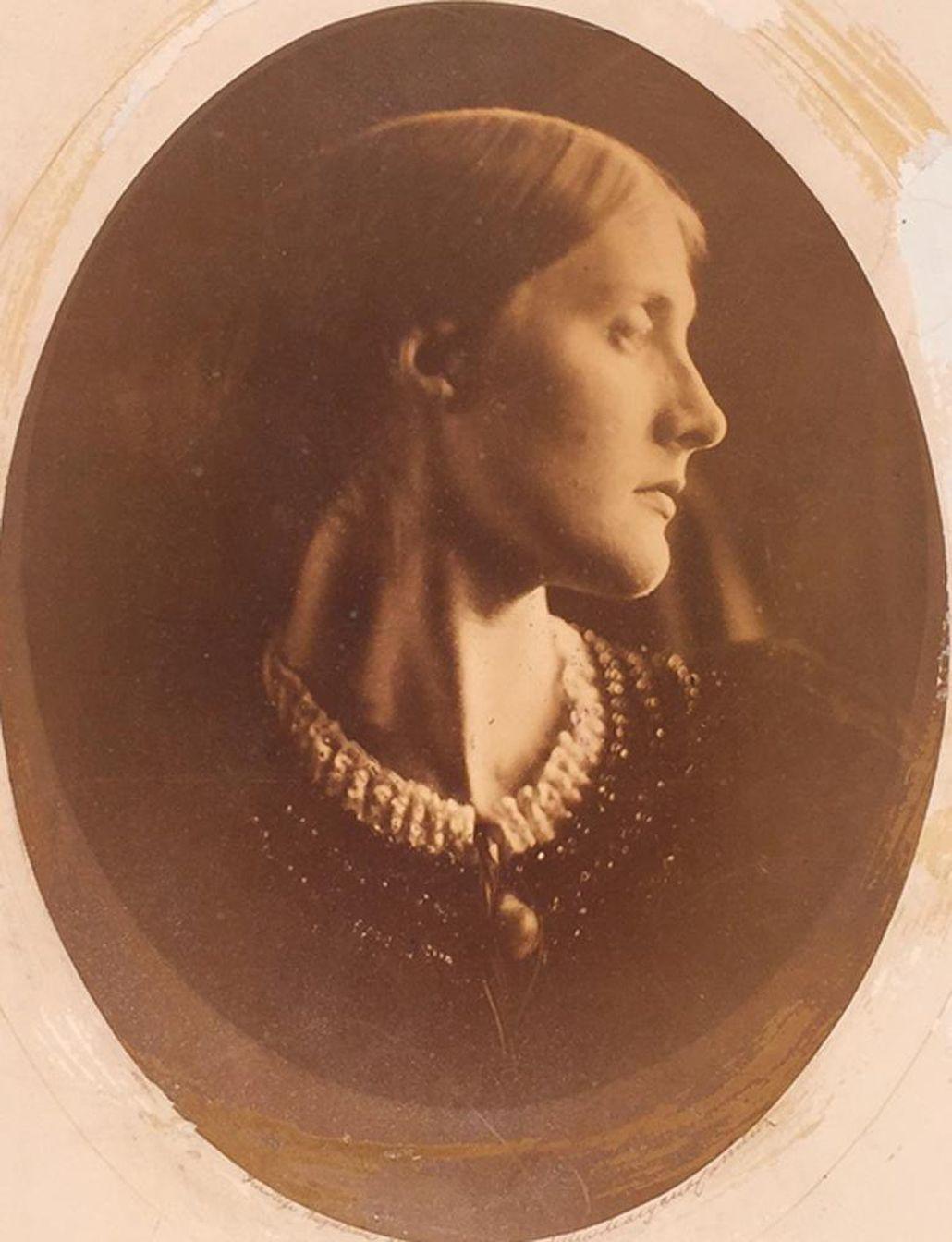Portrait of woman by Julia Margaret Cameron