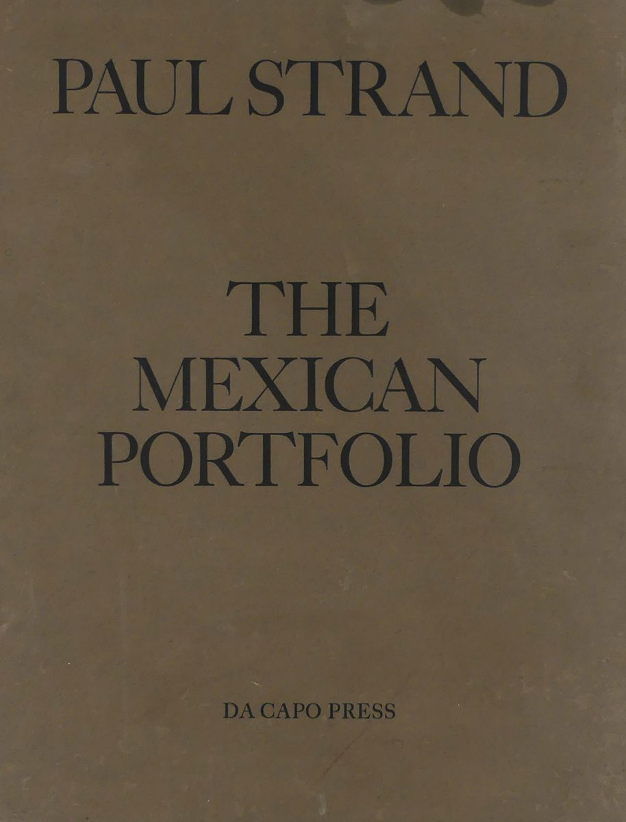 Cover of Paul Strand Mexican Portfolio