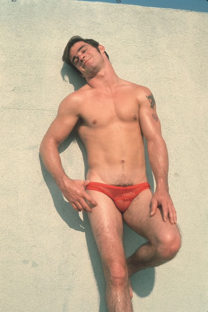Man in underwear by Bob Mizer