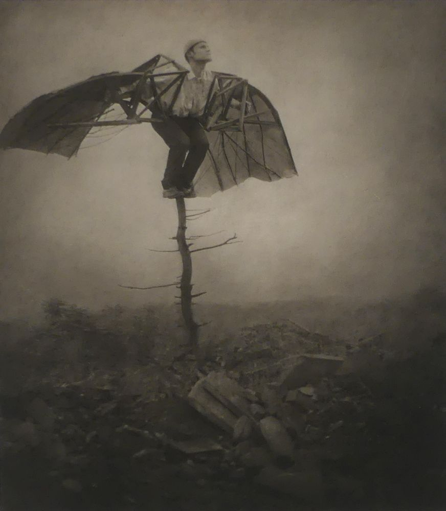 Man With Wings by the ParkeHarrison's