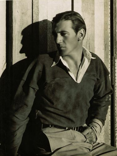 Portrait of Gary Cooper by Cecil Beaton