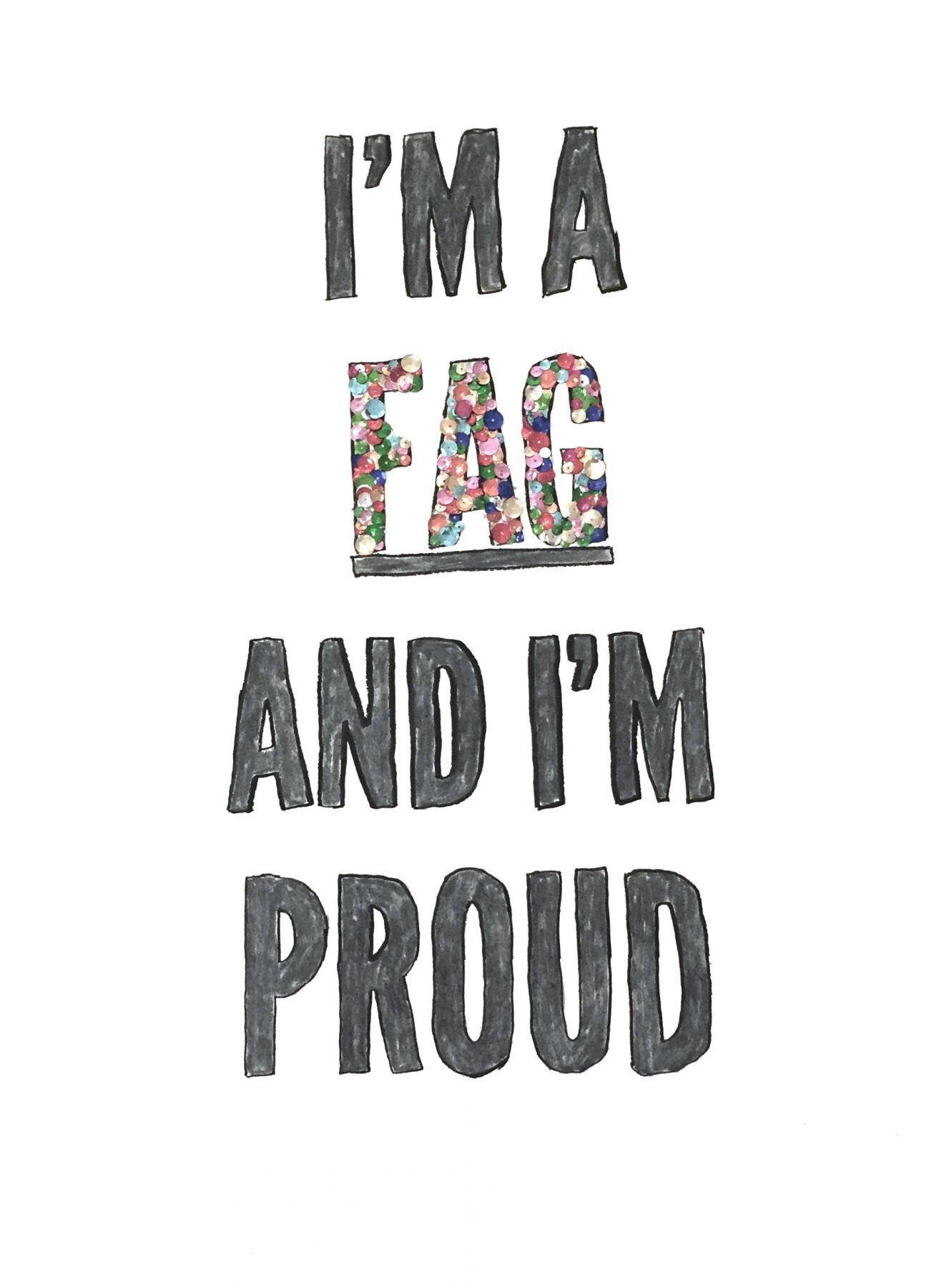 Sheldon Scott: I'm A Fag and I'm Proud UNTITLED, ART. Podcast (Live)