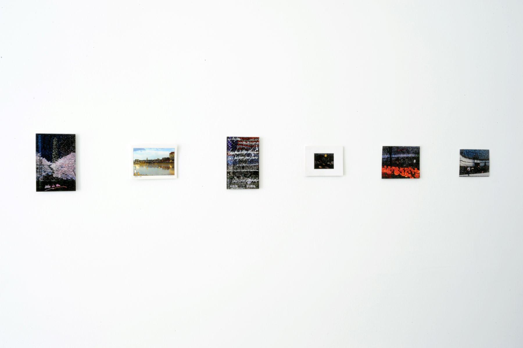 DIE VETTERN: LINA VARGAS DE LA HOZ, IRIS CHRISTINE AUE, EVI LEUCHTGELB and CHRISTA AISTLEITNER  Wir packen in unseren Koffer / Packing Our Suitcase 2012. Installation view: Conner Contemporary Art.