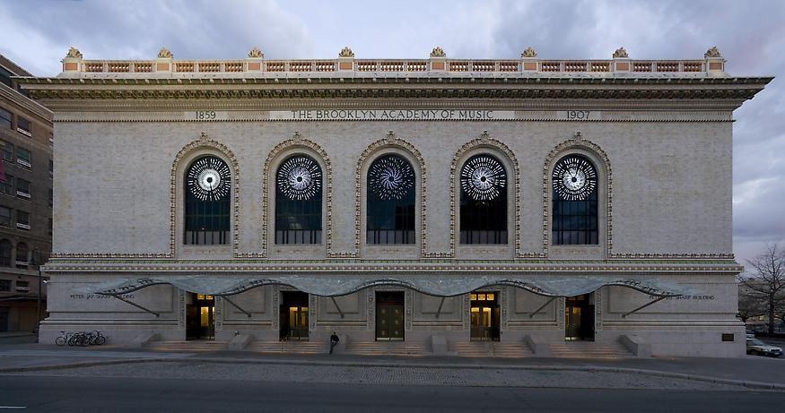 LEO VILLAREAL Stars  2007. Site-specific Installation: Brooklyn Academy of Music, NY.