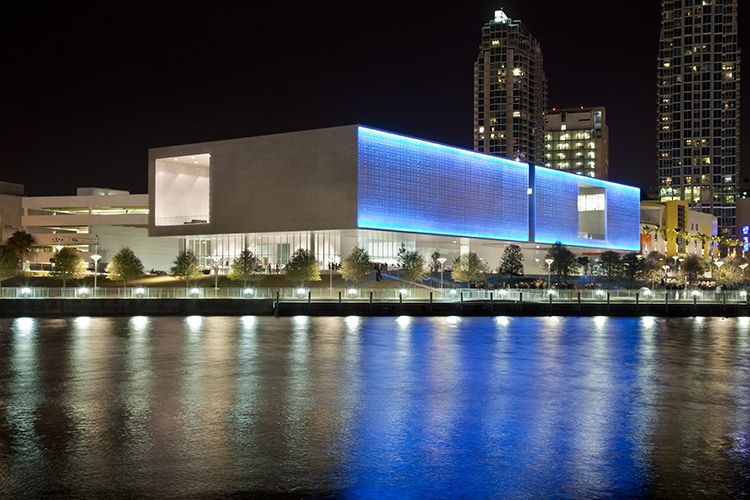 LEO VILLAREAL  Sky (Tampa) 2010. Permanent installation: Tampa Museum of Art, Tampa, FL.