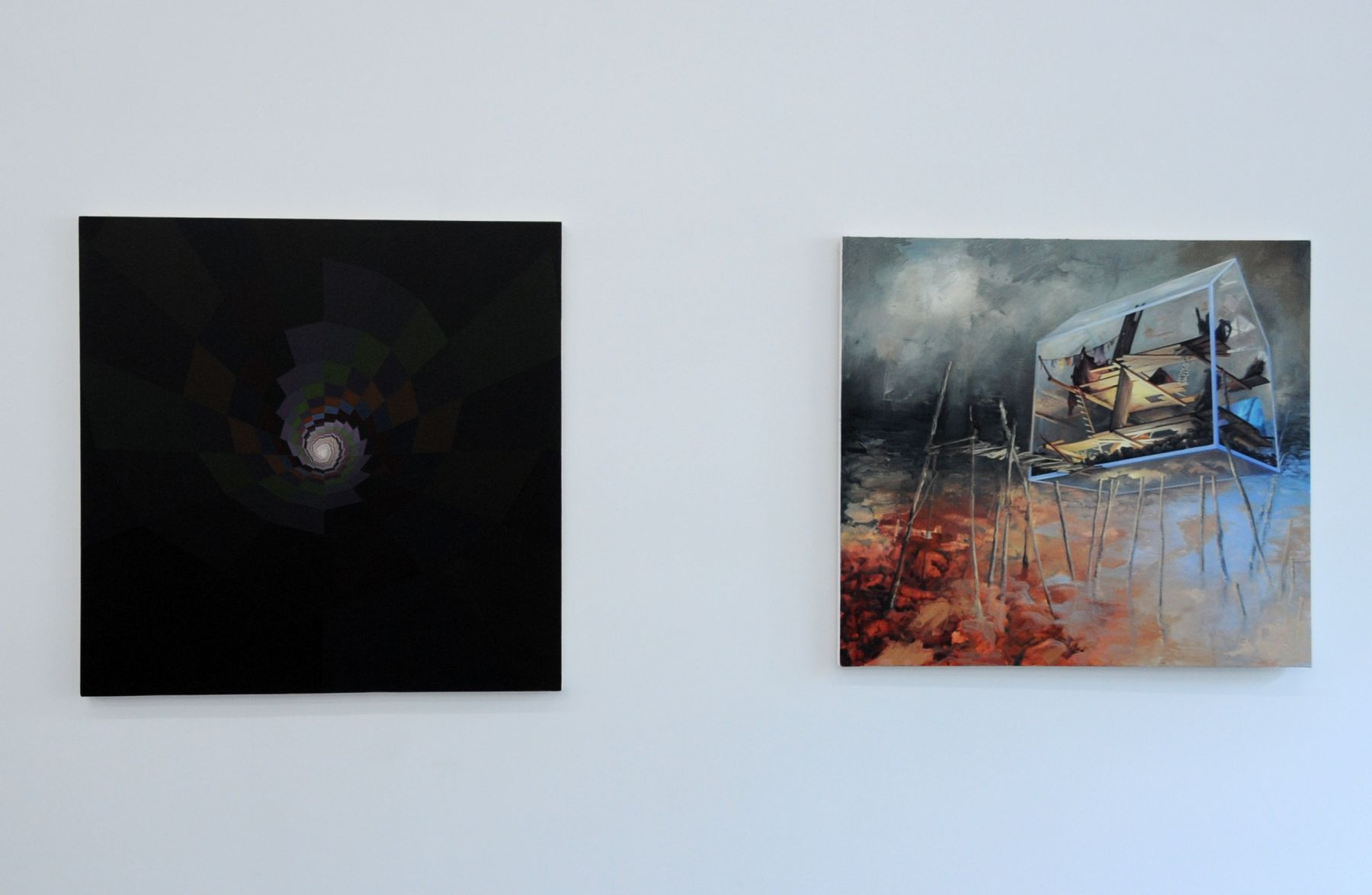 MICHAEL DOTSON and VIRGINIA WAGNER ACADEMY 2011 Installation view: Conner Contemporary Art.