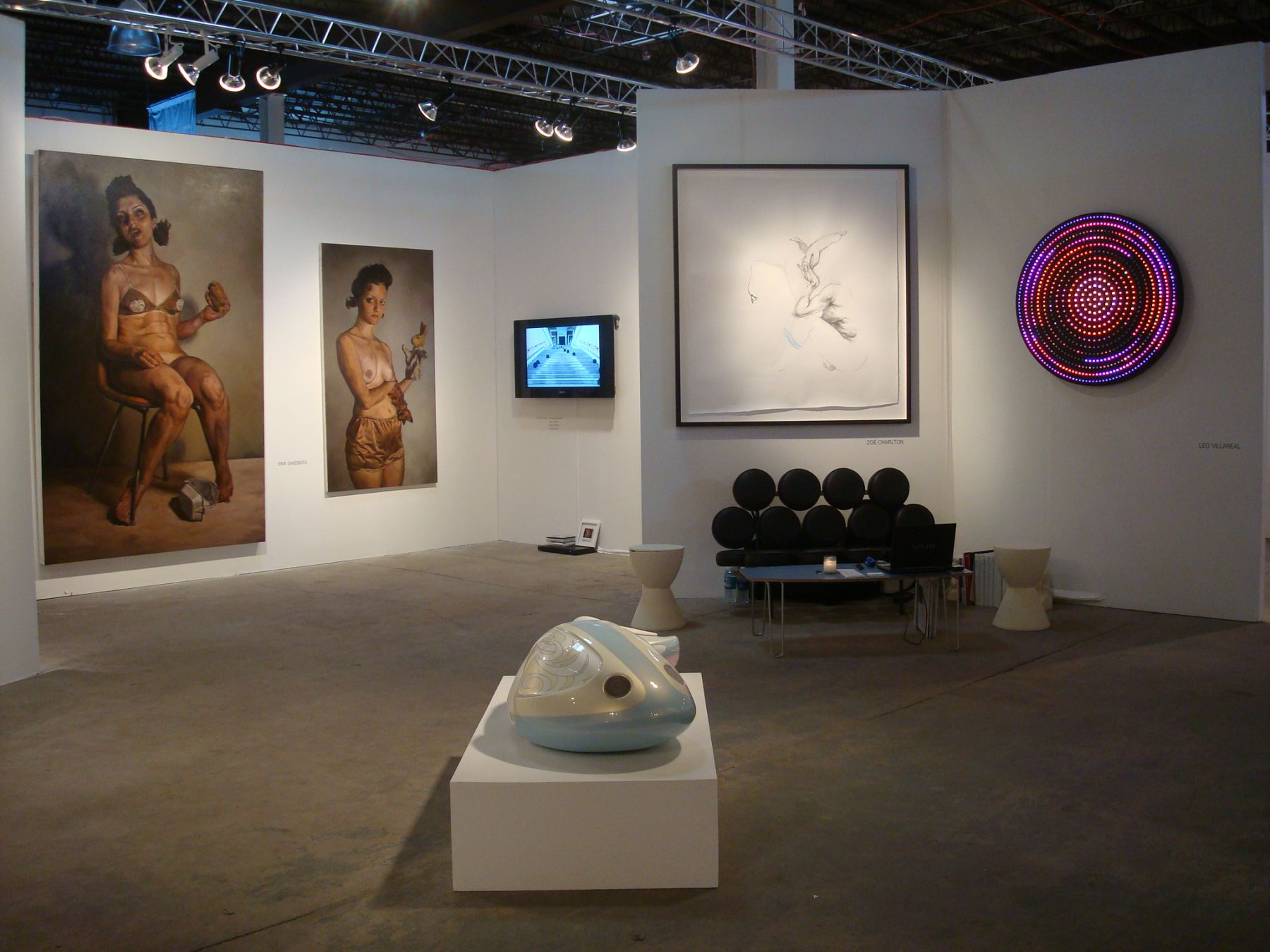 2007. Installation view: PULSE Miami.