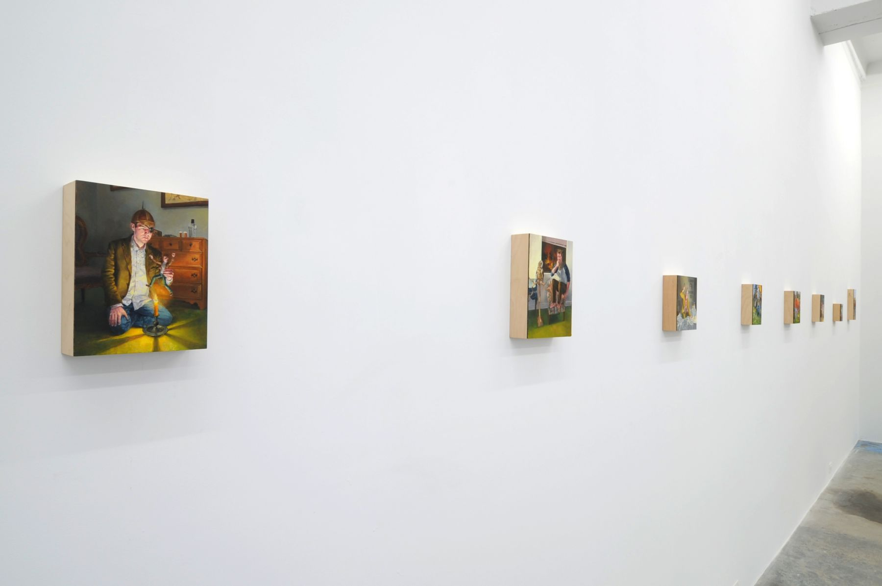 NATHANIEL ROGERS The Last Viking 2009. Installation view: Conner Contemporary Art.