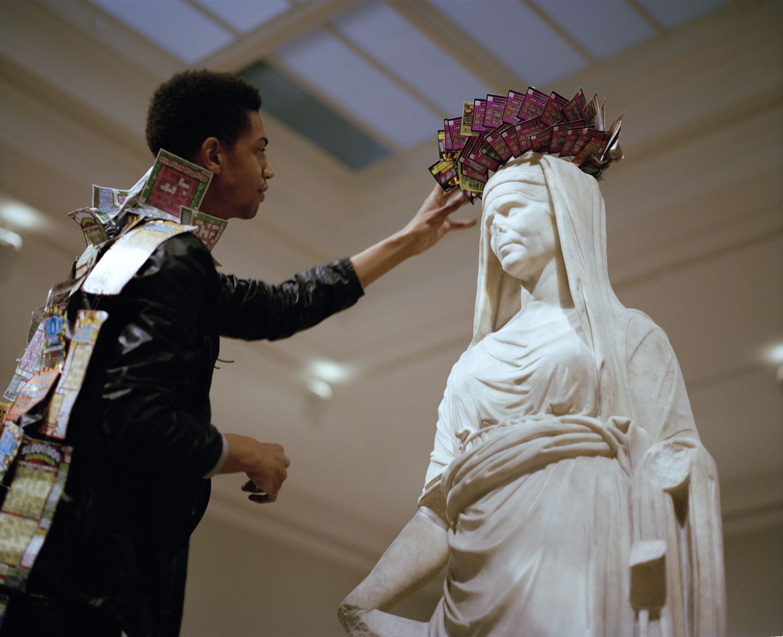 Wilmer Wilson IV Priestess Faust Walk Performance: Boston Museum of Fine Arts, Boston, MA.