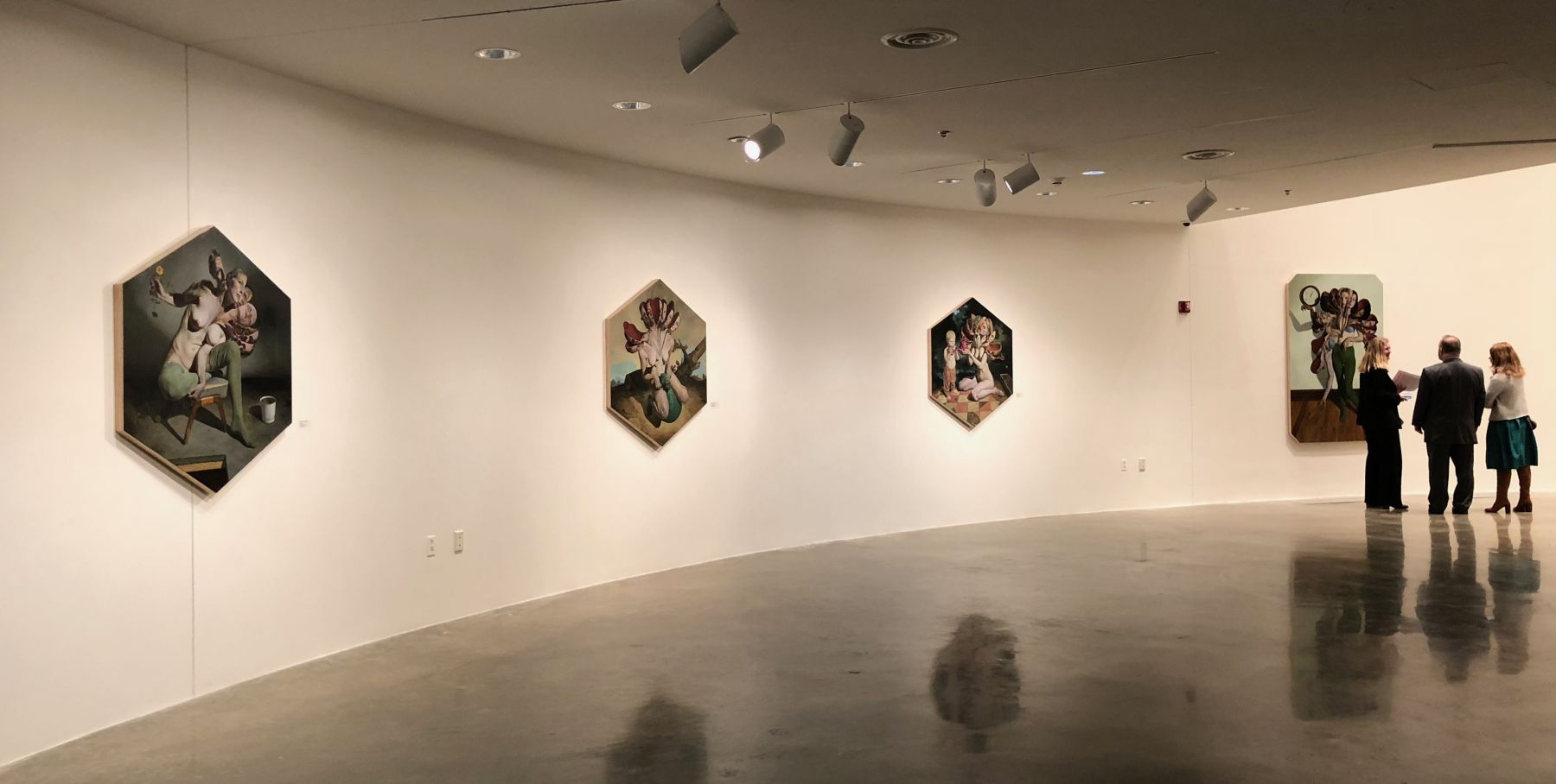 ERIK THOR SANDBERG  2018, Installation view: American University Museum Katzen Arts Center