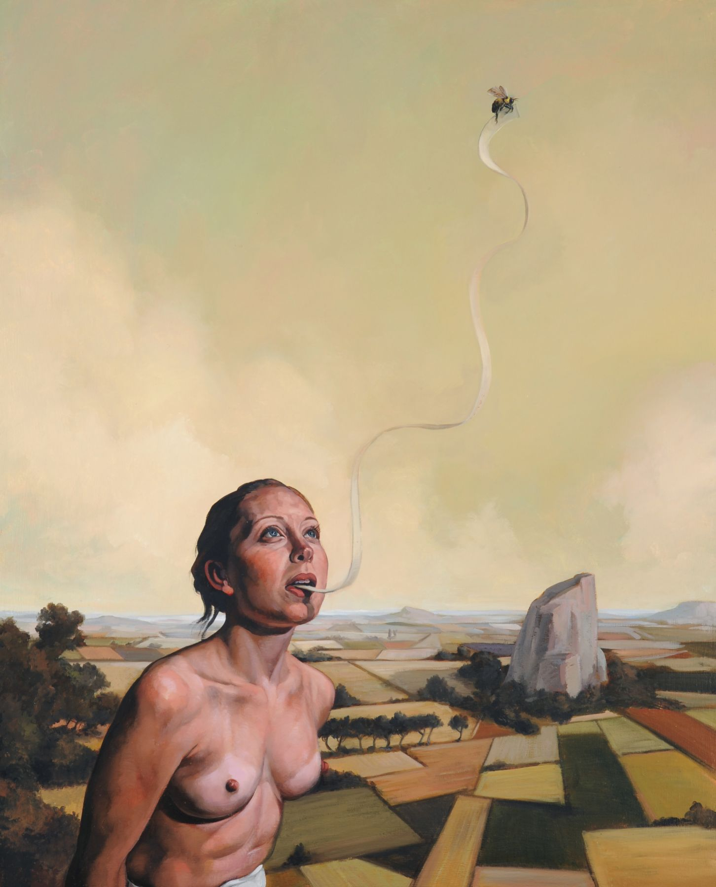 ERIK THOR SANDBERG Eloquence 2009, oil on canvas, 30 x 24 inches