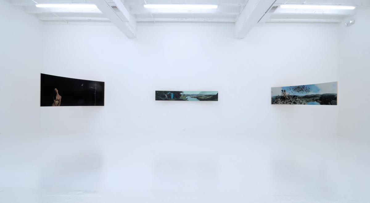 ERIK THOR SANDBERG  Reparatory Gestures 2011. Installation view: CONNERSMITH.