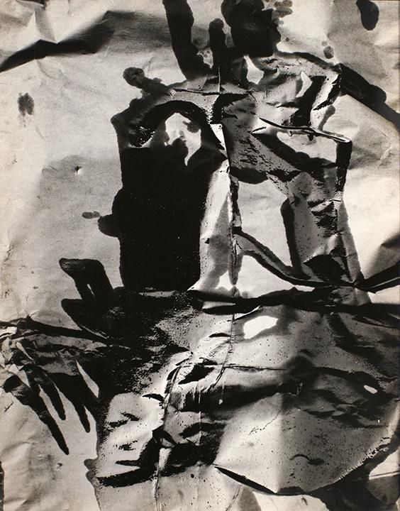 Aaron Siskind New York, West Street 14,1950 Gelatin silver print 16 x 13 inches