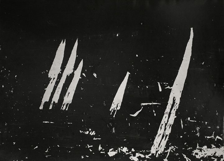 Aaron Siskind Maine 5, 1949 Gelatin silver print 16 x 20 inches