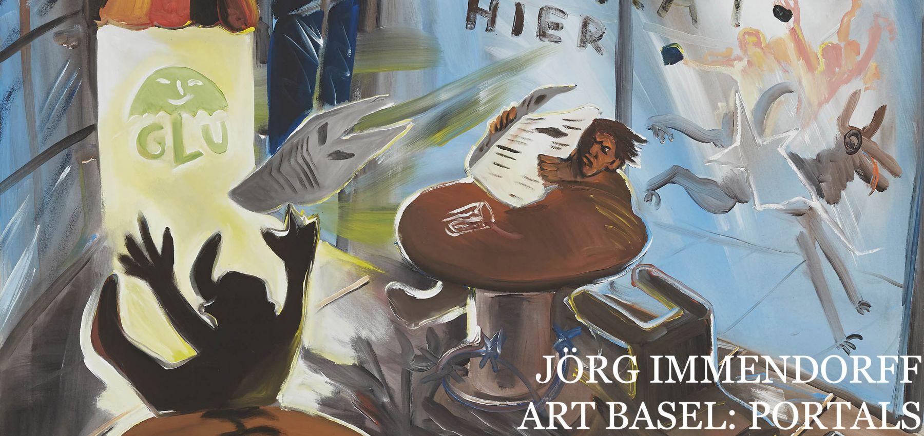 Art Basel OVR Portals: Jörg Immendorff