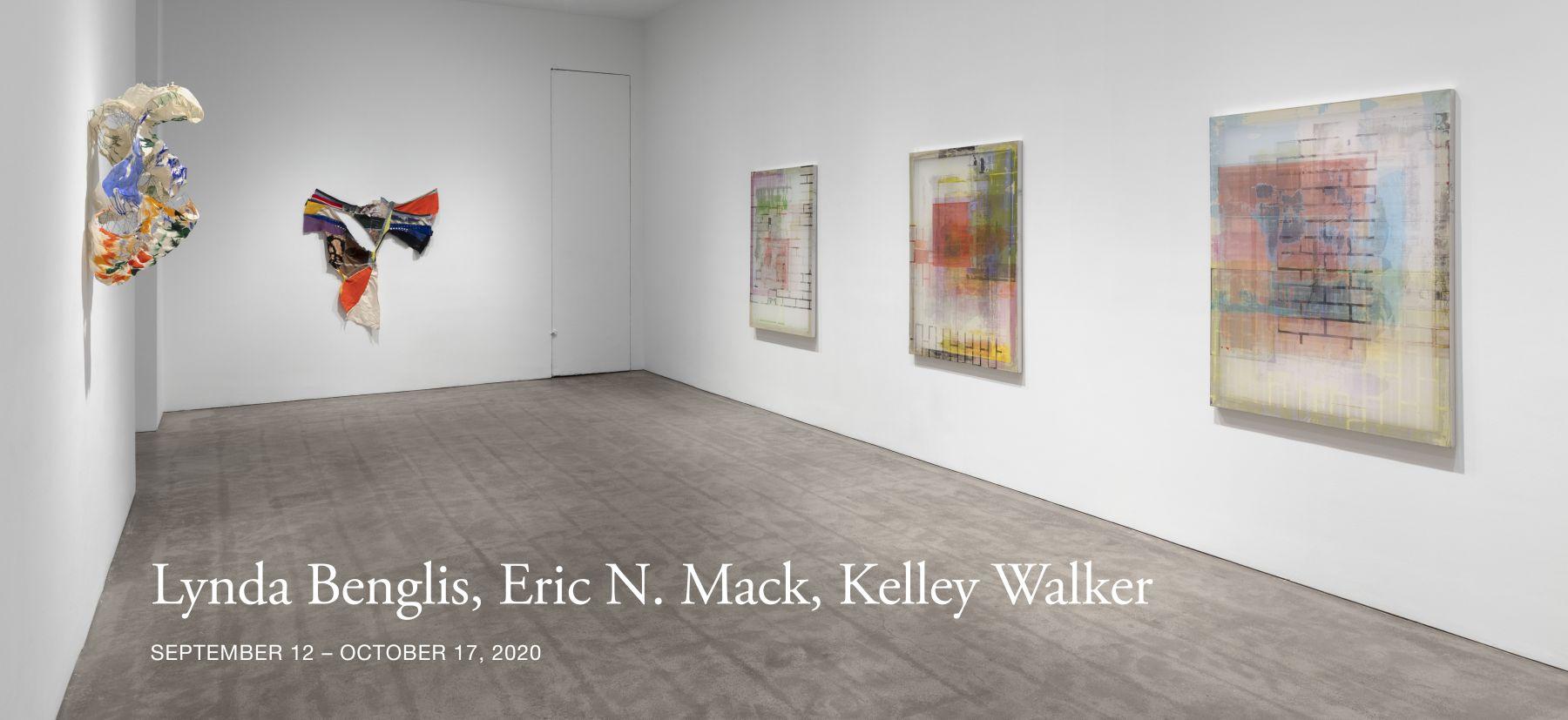 Lynda Benglis, Eric N. Mack, Kelley Walker