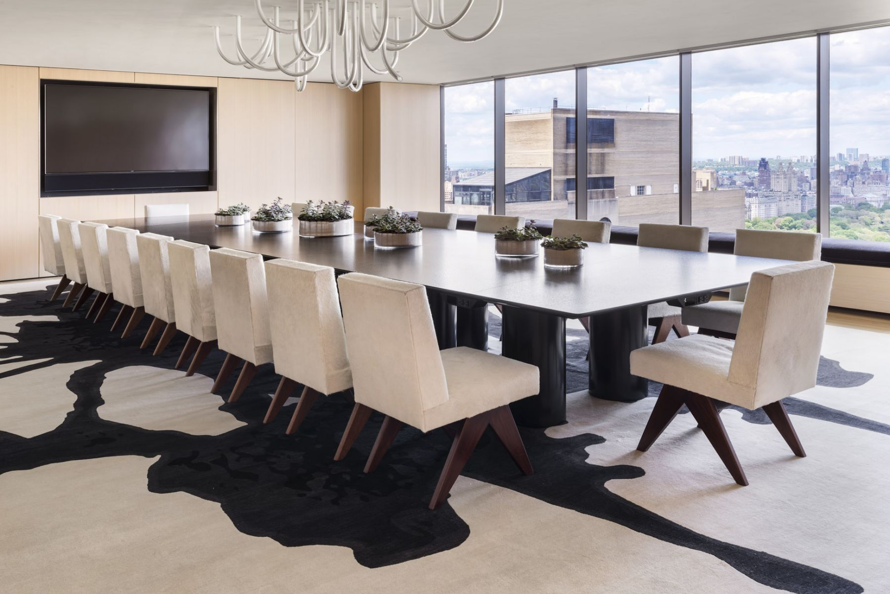 Conference Room Jeanneret chairs