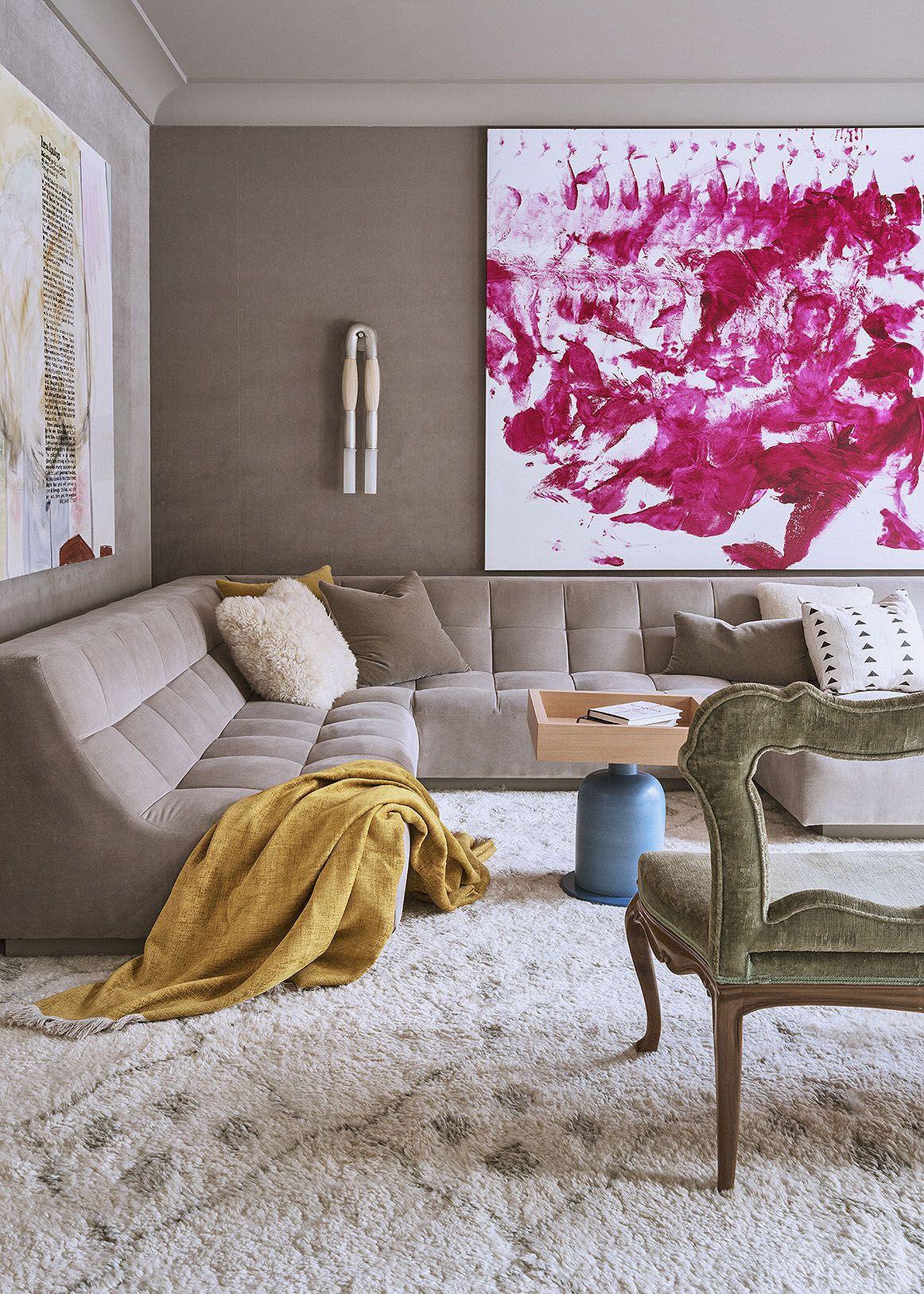 Seamed sofa