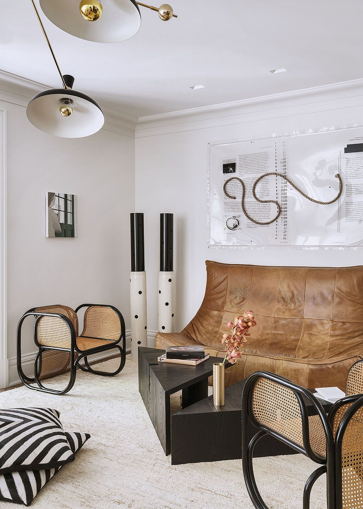Lounge off kitchen
