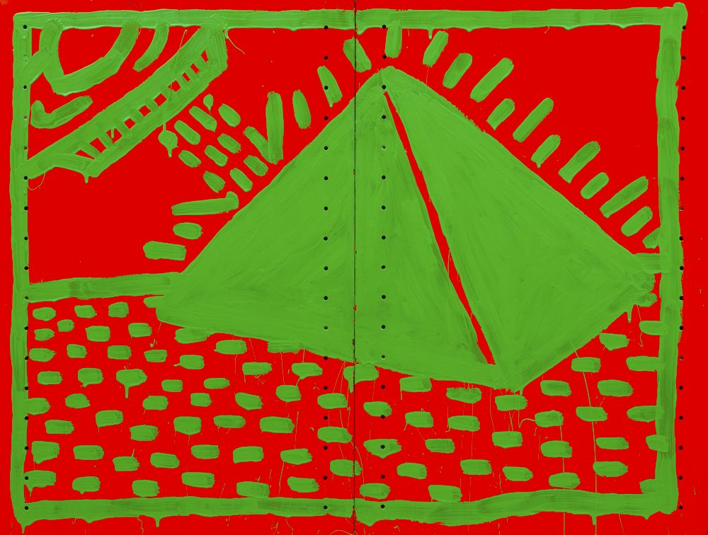 "Image of Keith Haring's ""Untitled"""