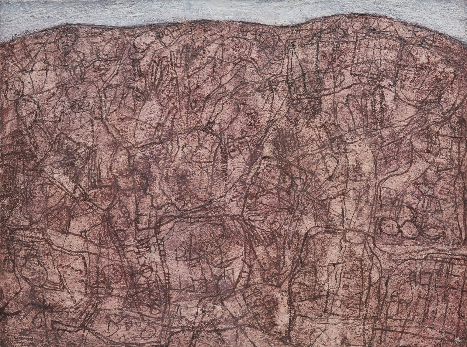 "Image of Jean Dubuffet's ""Nos Vieilles Terres"""