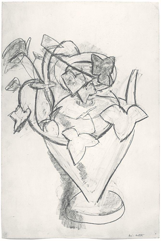 """Image of Henri Matisse's """"Vase de Lierre"""""""