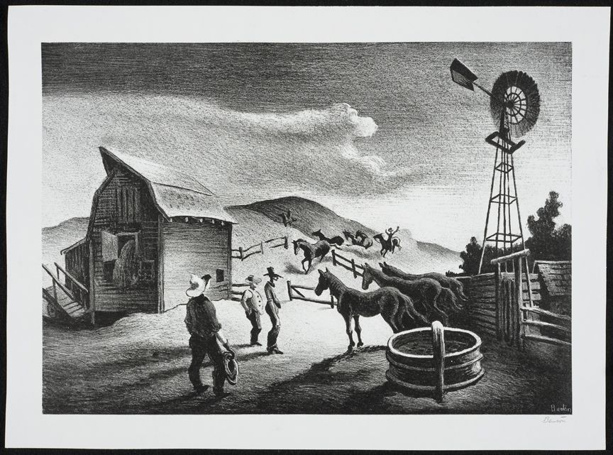The Corral, d. 1948