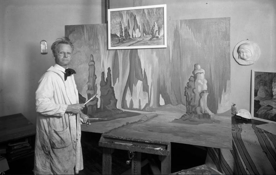 IMAGE OF SHUSTER and Carlsbad Painting