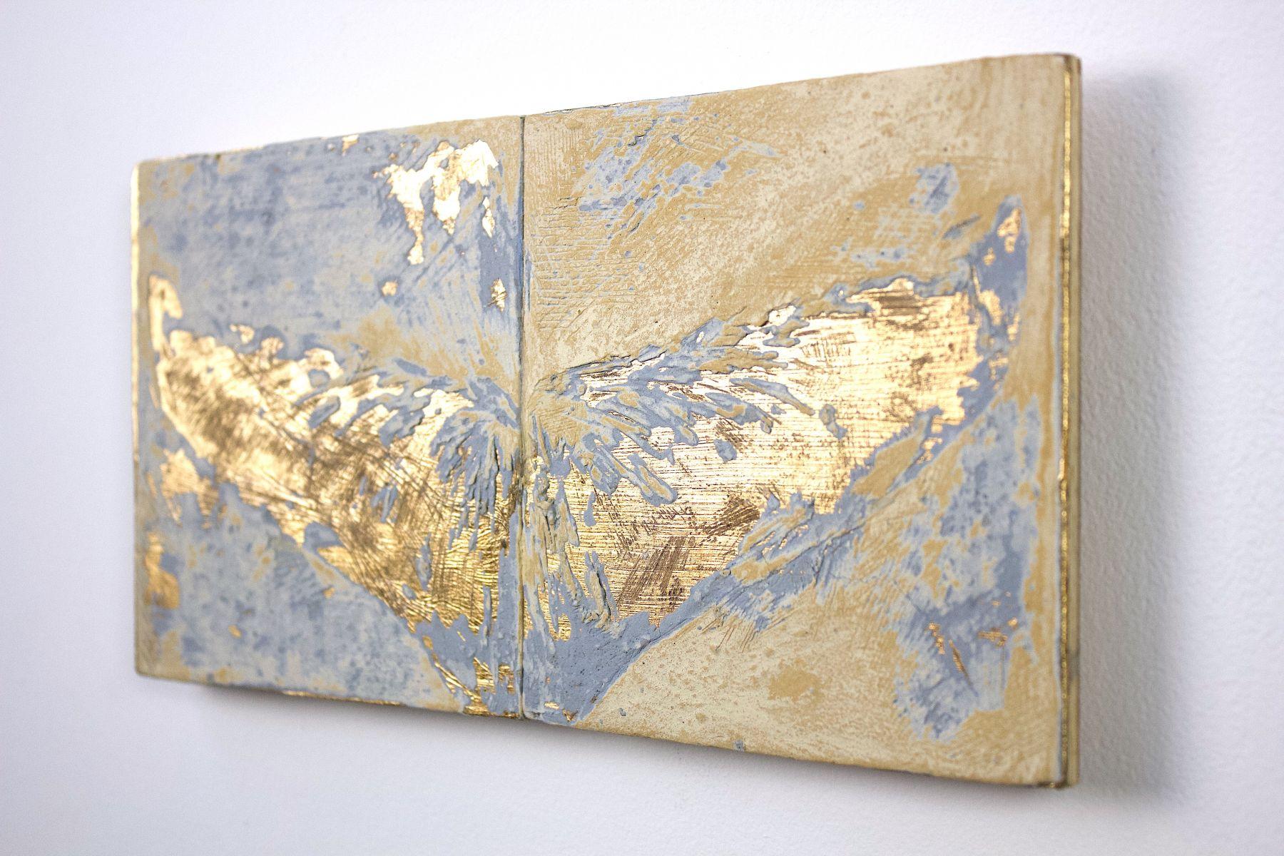 whale fluke gold