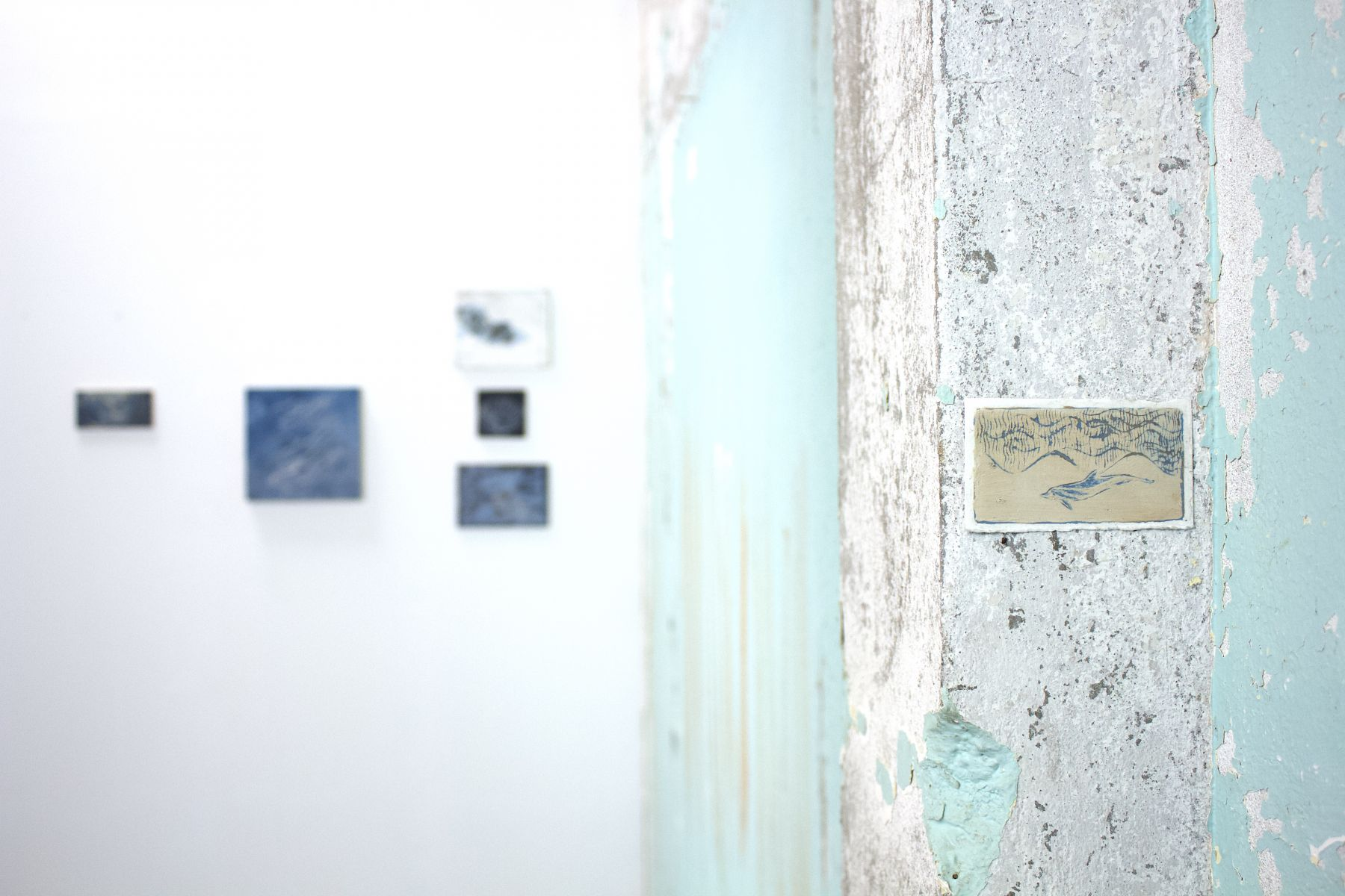 Install Pics small drawing w dolphins