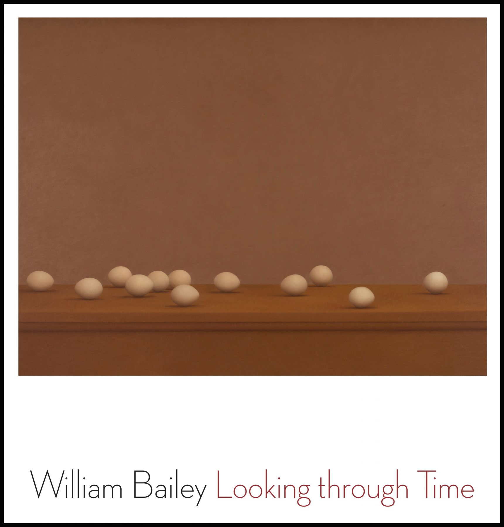 Image of William Bailey Looking through Time Book