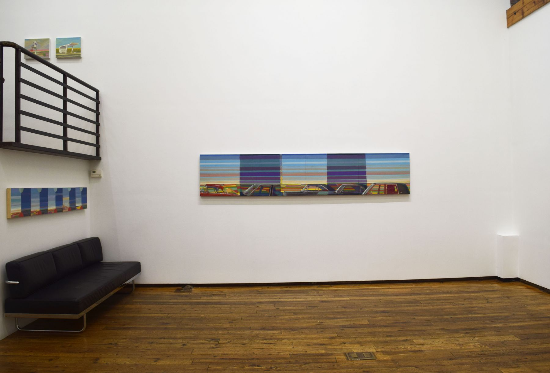 Installation view of Greg Drasler, Crowded Places/ Open Spaces, 2021.