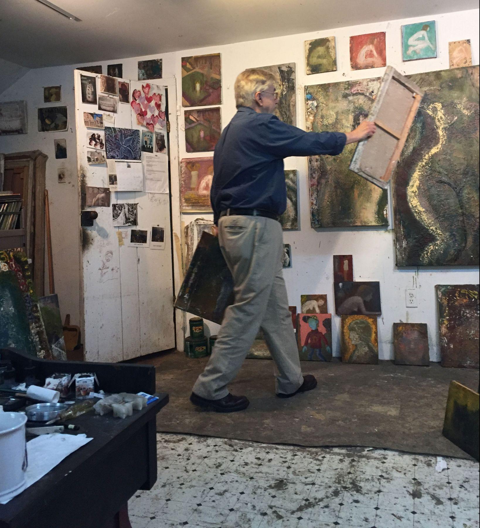 John in the Studio