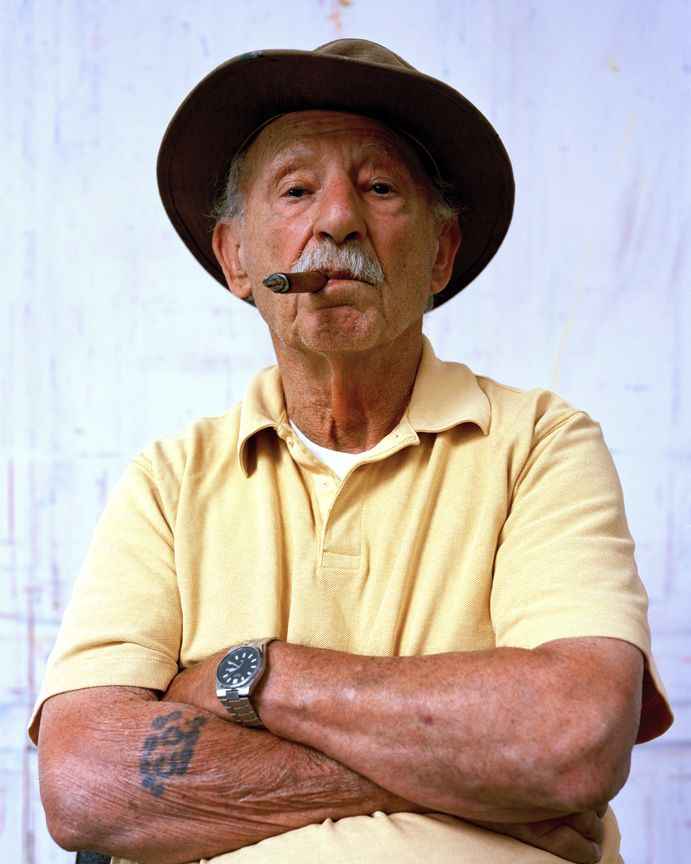 Image of Chas with Cigar