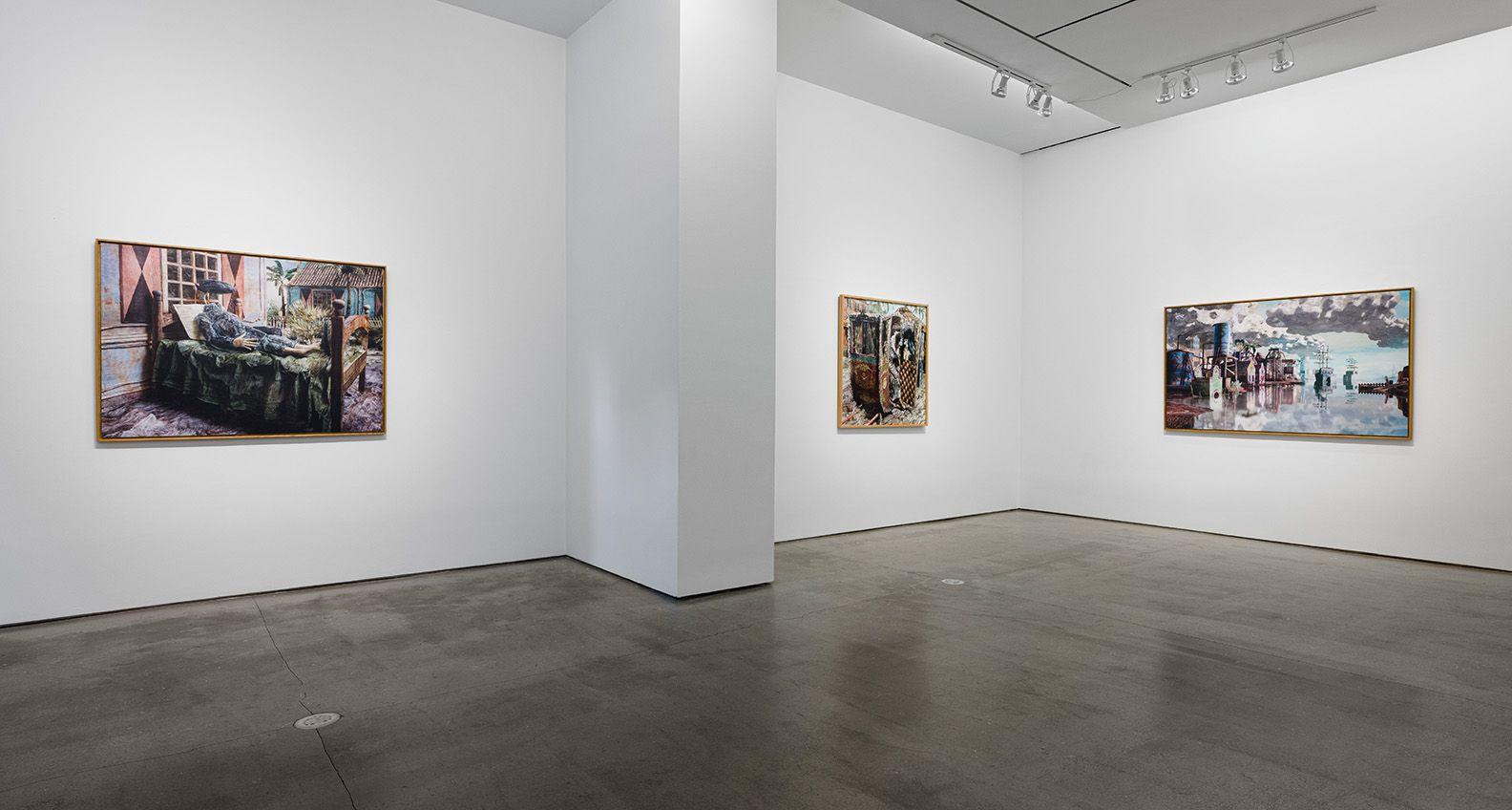 """The Admiral's Headache"" installation view at Asya Geisberg Gallery"