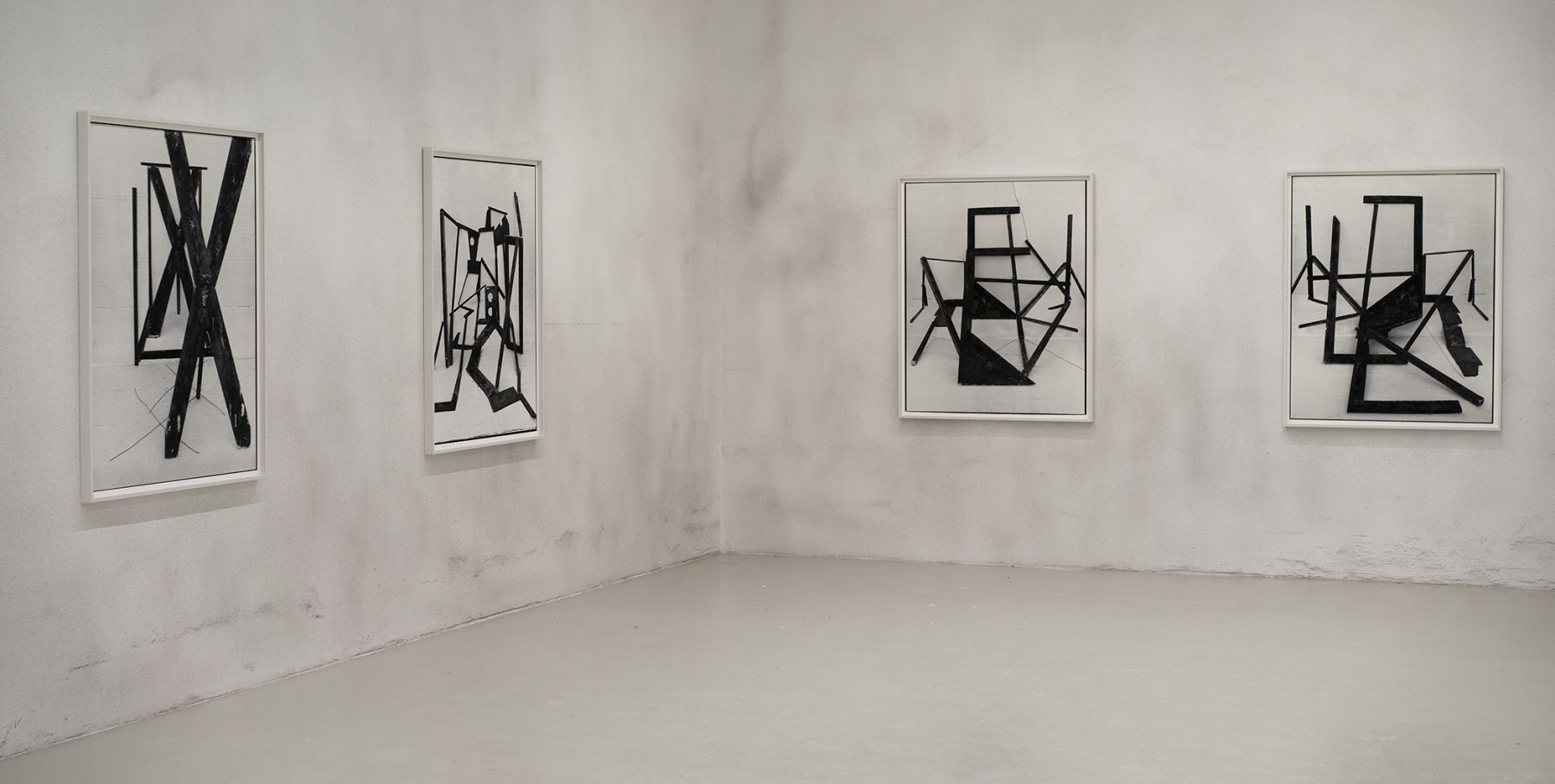 American Type installation view at Galerie Lisa Kandlhofer, Vienna