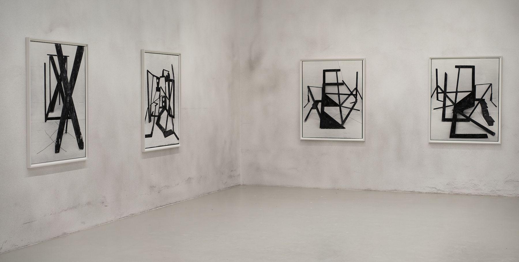 American Type installation view at Galerie Lisa Kandlhofer, Vienna