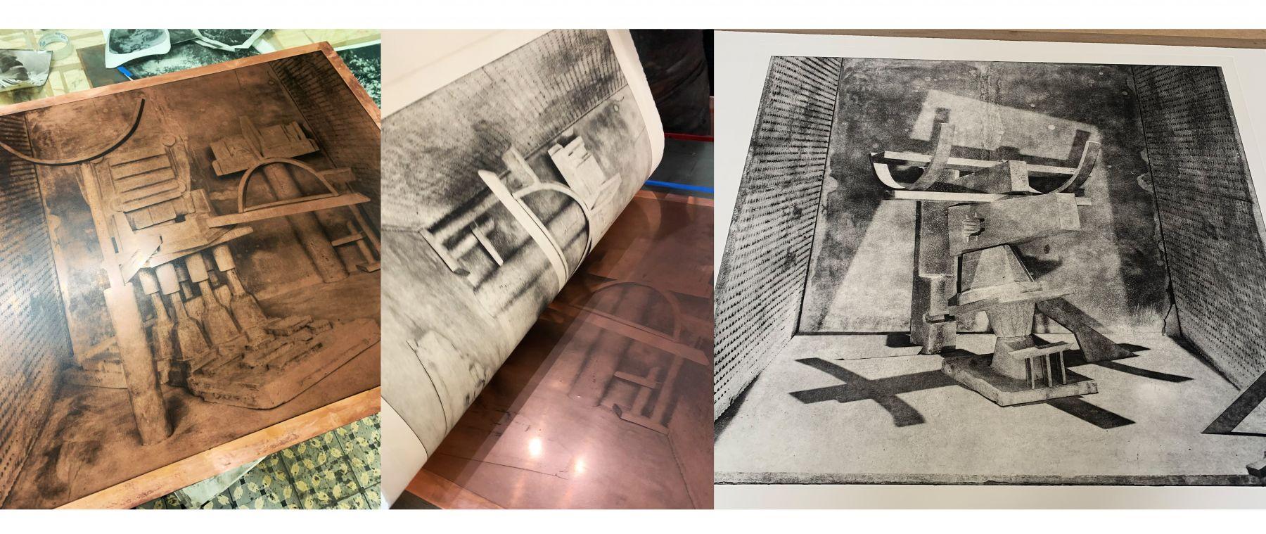 Photogravure process image