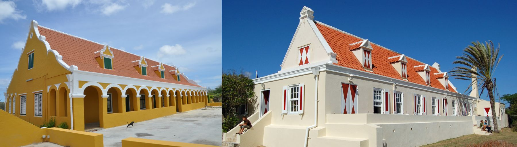 Photos of landhouses in Curacao