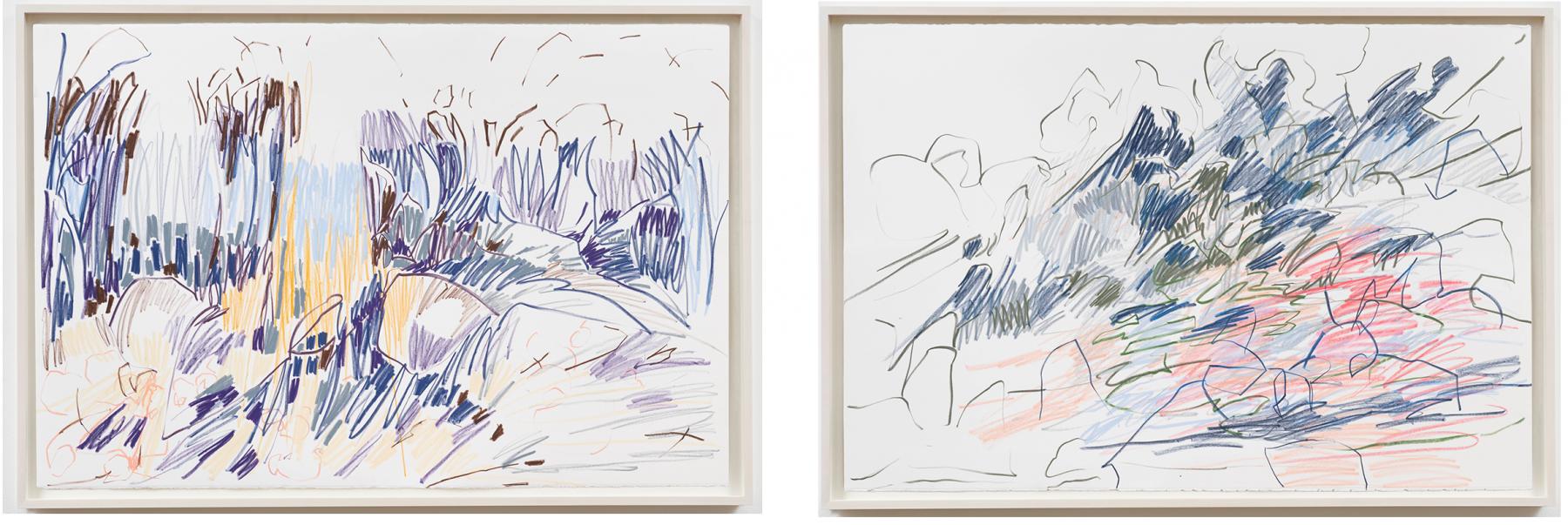 colorfield drawing III, VII