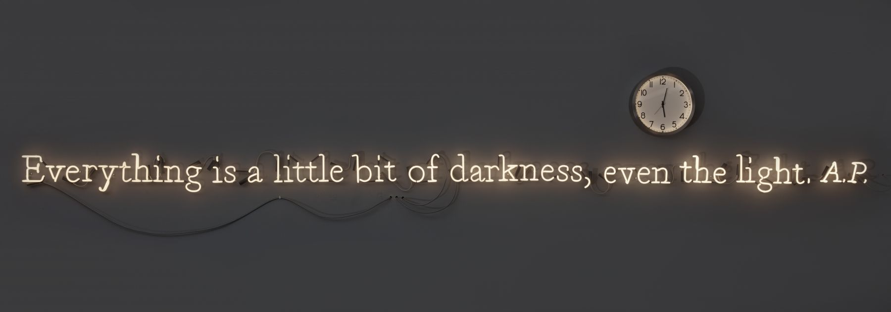 "neon ""everything is a little bit of darkness:"