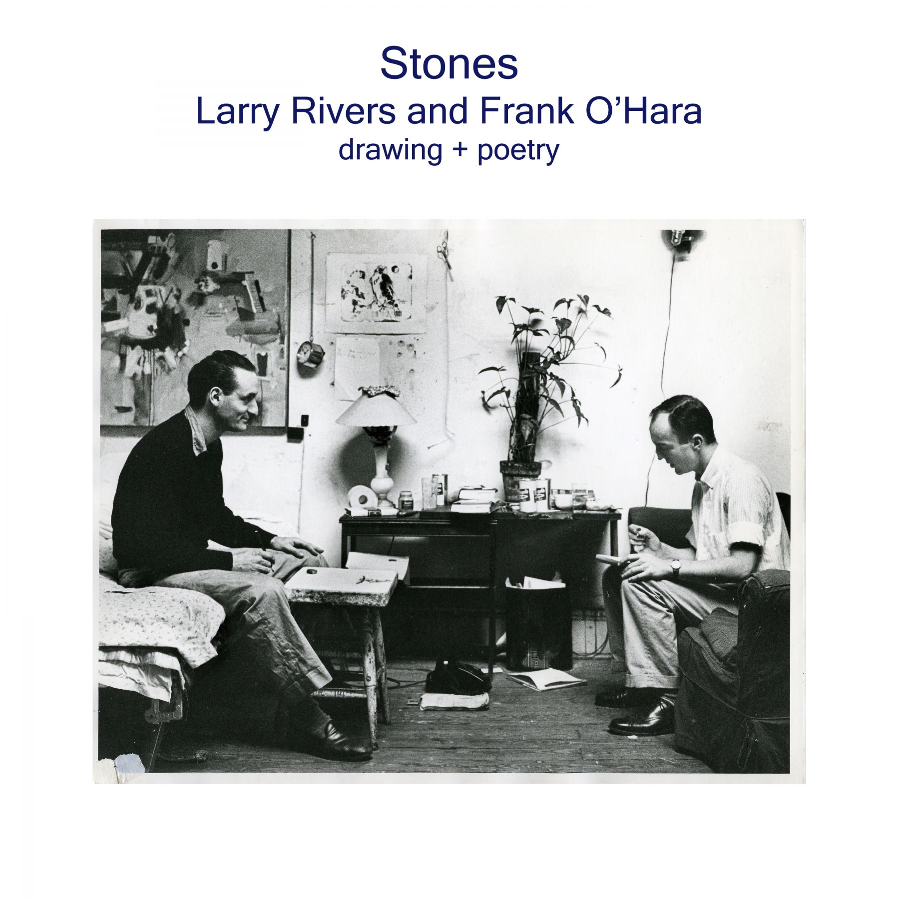 Larry Rivers and Frank O'Hara - Stones