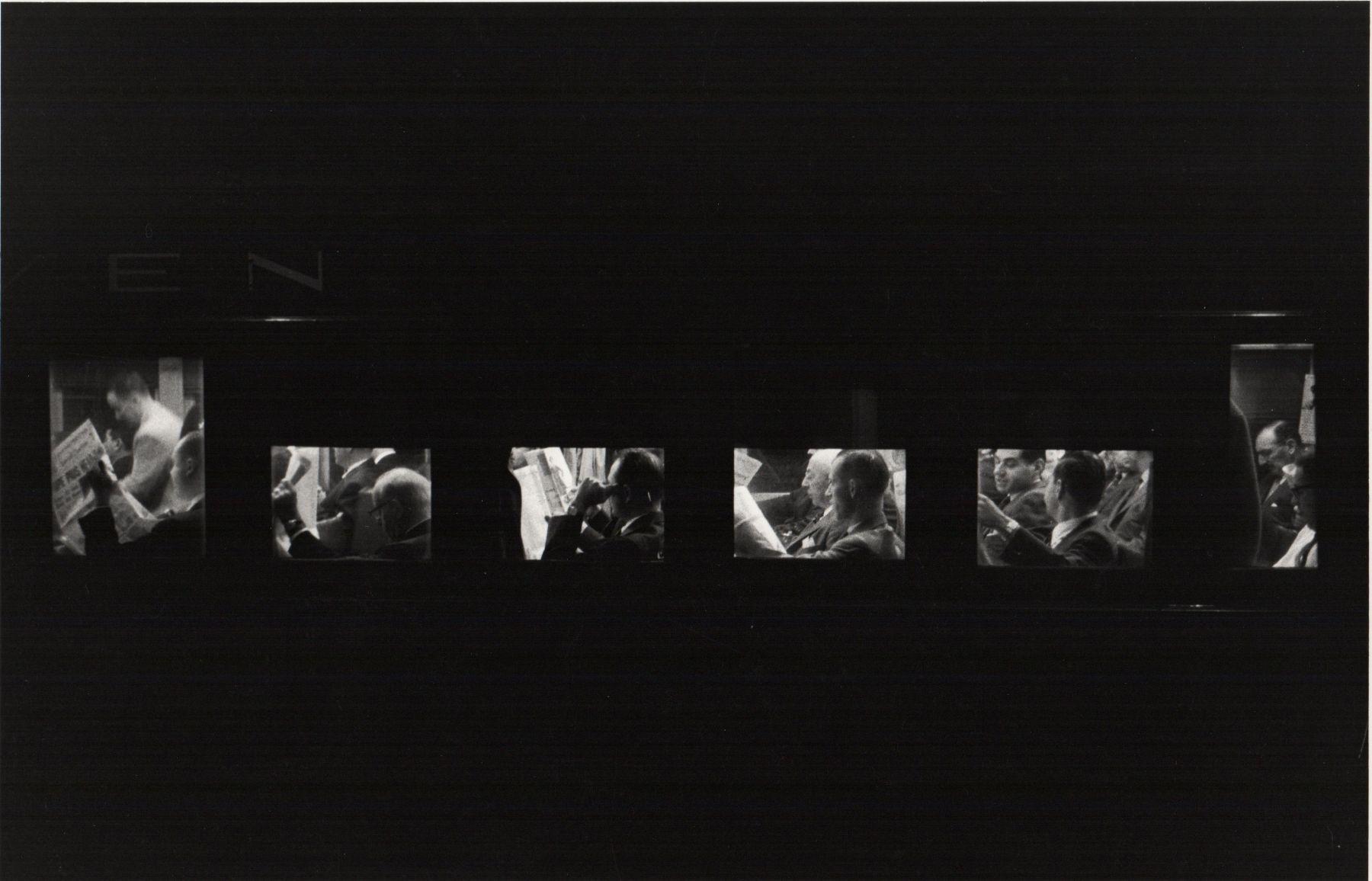 Louis Stettner - The Penn Station Series, 1958