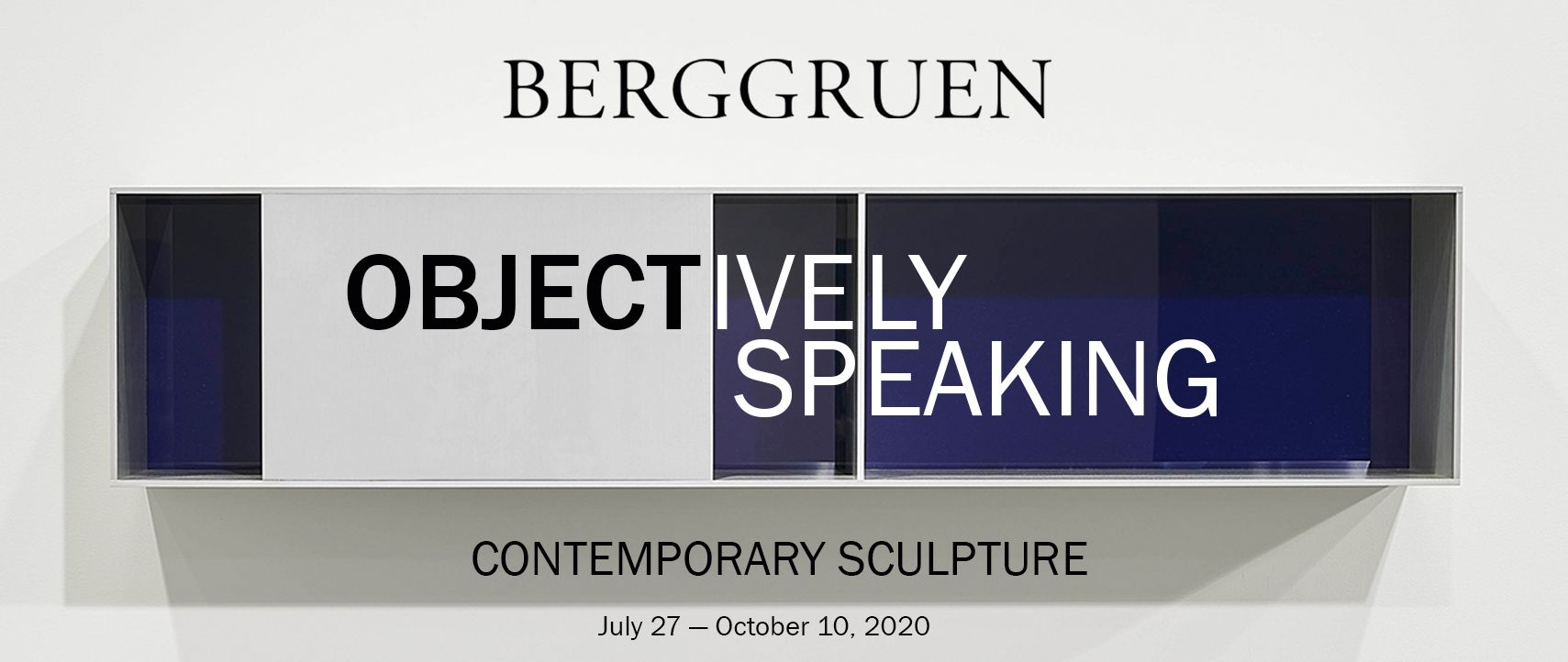 OBJECTively Speaking: Contemporary Sculpture