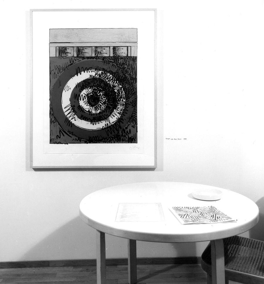 Jasper Johns Installation December 1977