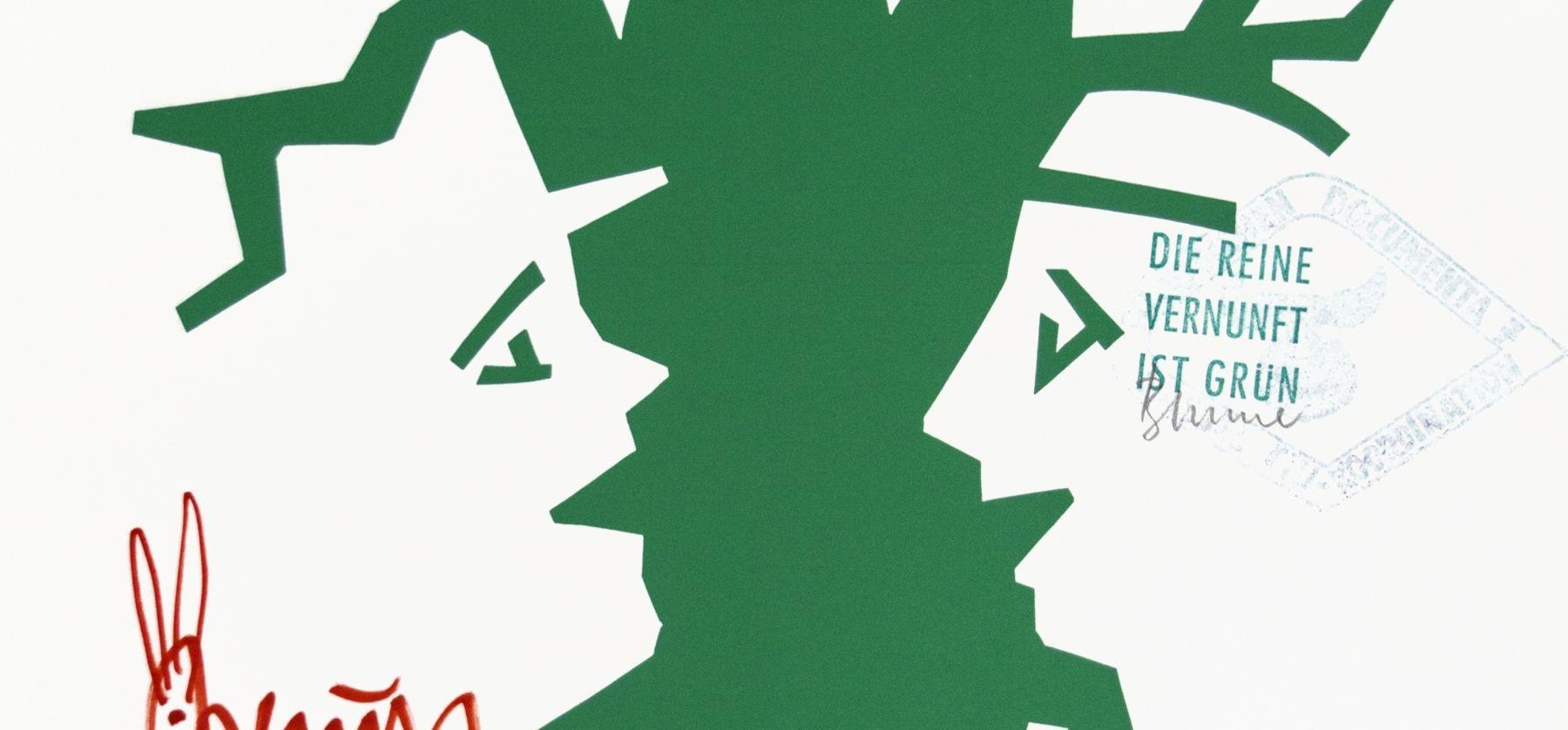 Joseph Beuys 1000 Trees Poster