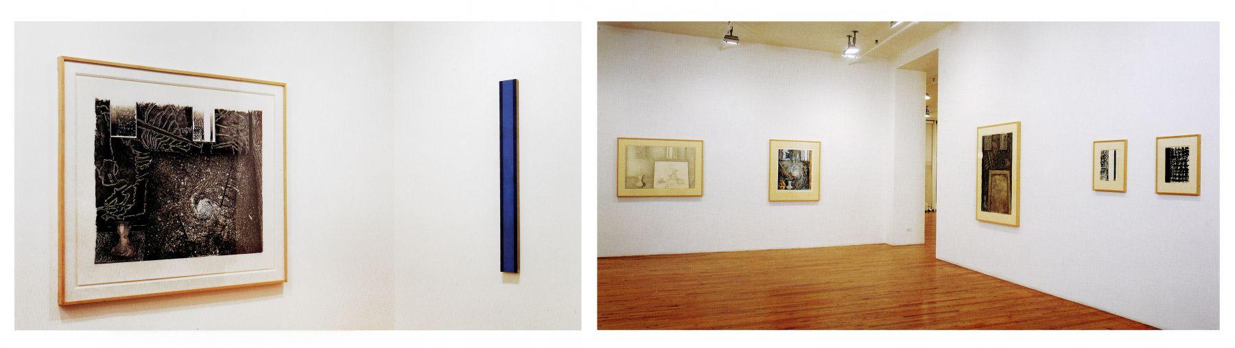 Jasper Johns, References to Barnett Newman Nov 18,1999-Jan 15,2000